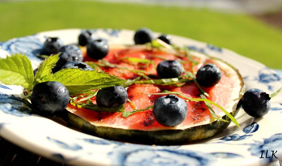 vannmelonogblåbær
